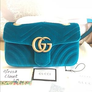 Brand New Seasonal Color  Gucci GG Marmont Mini..